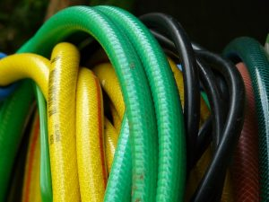 Garden hoses tangled watering Perth