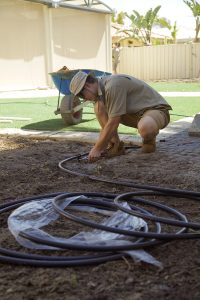 installing irrigation system Perth Reticulation