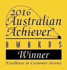 Perth Landscaping & Gardening service award.
