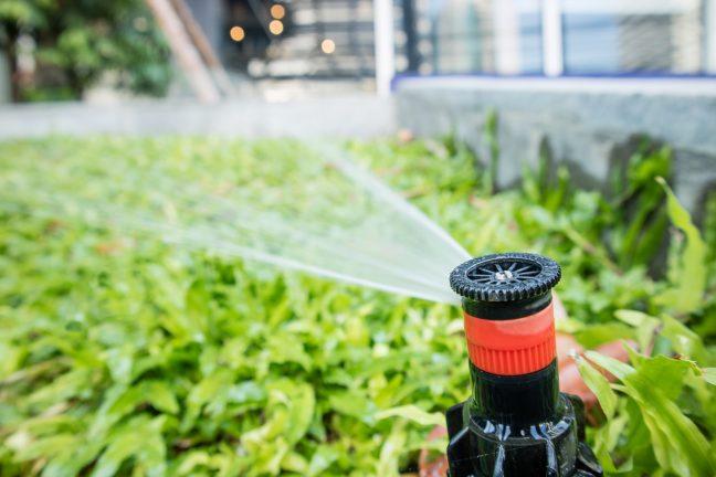 lawn sprinkler irrigation system
