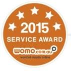2015 Womo service award Australia